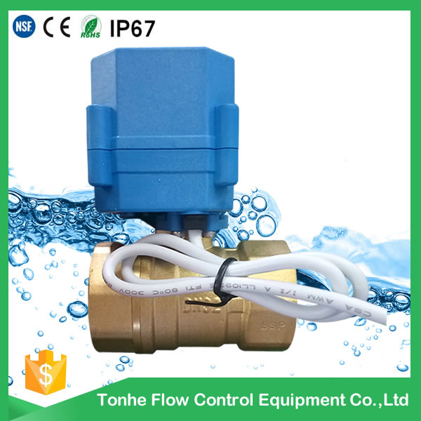 A20-T32-B2-C DN32 bras reduce port CR2 02 normally closed blue actuator motorized ball valve for air condition