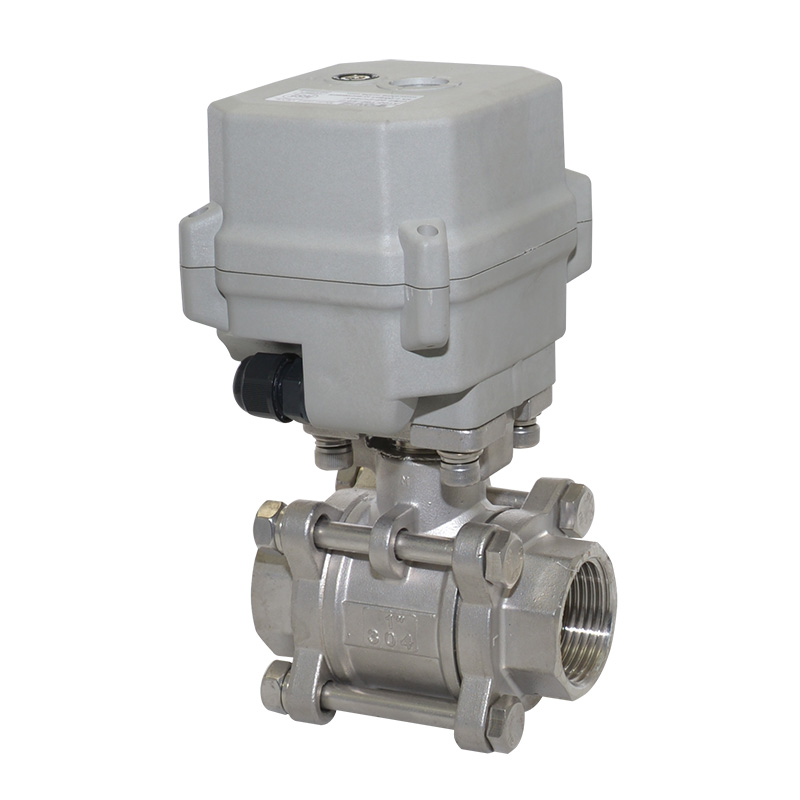 A150-T25-S2-B 3 pcs pieces DN25 SS304 motorized valve normally closed high pressure